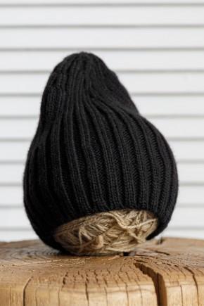 """Вязаная шапка Magbaby """"Alen"""" черная"""
