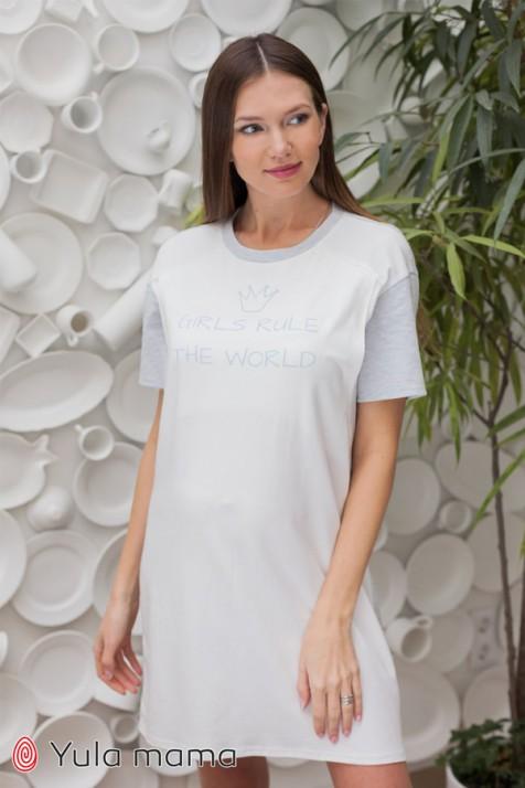 Нічна сорочка для вагітних і годуючих Юла Мама Maya NW-2.4.2
