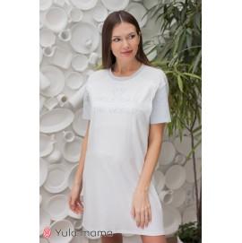 Ночнушка-футболка для беременных и кормящих Юла Мама Жасмин NW-1.11.2