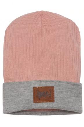 Демисезонная шапка для девочки Deux par Deux W26-622