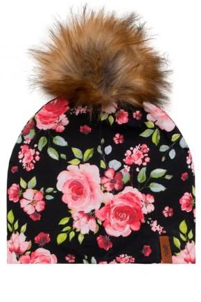 Демисезонная шапка для девочки Deux par Deux W20-005