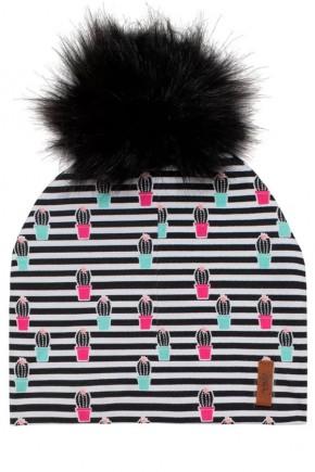 Демисезонная шапка для девочки Deux par Deux W20-004