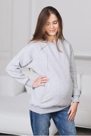 Свитшот для беременных и кормящих Love&Carry Меланж