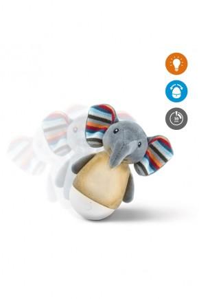 Ночник тумблер неваляшка Zazu Слонёнок Елли