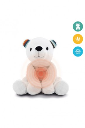 Тёплая игрушка Zazu Мишка Пауль с ароматом лаванды