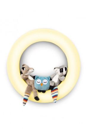 Настенный светильник-ночник Zazu Fay, Rex и Otis с авто отключением
