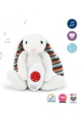 Музыкальная мягкая игрушка Zazu Bibi с белым шумом