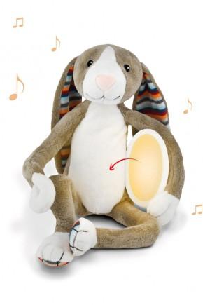 Музыкальная мягкая игрушка Zazu БО