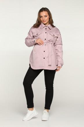 Весенняя куртка-рубашка для беременных Lullababe пудра