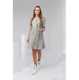 Платье для беременных и кормящих Dianora 2122 фисташковый