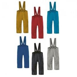 Штаны на лямках Disana, 100% свалянная шерсть