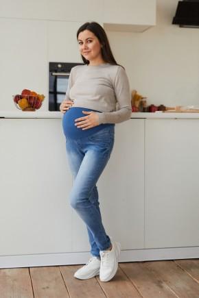 Джинсы для беременных Lullababe Skins синие