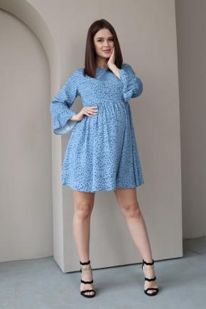 Платье для беременных и кормящих To be 4291 деним