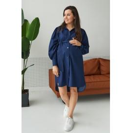 Платье для беременных и кормящих Lullababe Florence синий