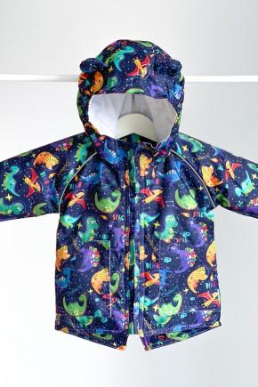 Куртка-парка демисезонная ДоРечі Динозавры в космосе