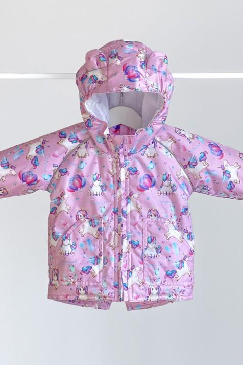 Куртка-парка демисезонная ДоРечі Единороги