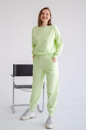 Спортивный костюм для беременных и кормящих To be 4301 мятный