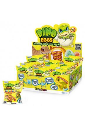 Растущая игрушка в яйце «Dino Eggs» - ДИНОЗАВРЫ (12 шт., в дисплее)