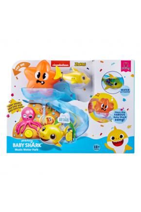 """Интерактивный игровой набор для ванны ROBO ALIVE серии """"Junior"""" - BABY SHARK"""