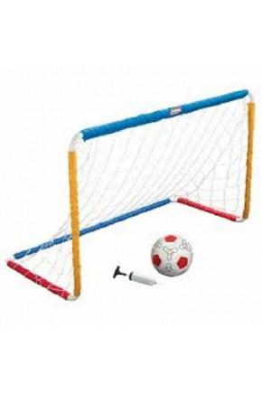 Игровой набор - МОЙ ПЕРВЫЙ ФУТБОЛ EASY SCORE (футбольные ворота, мяч, насос)