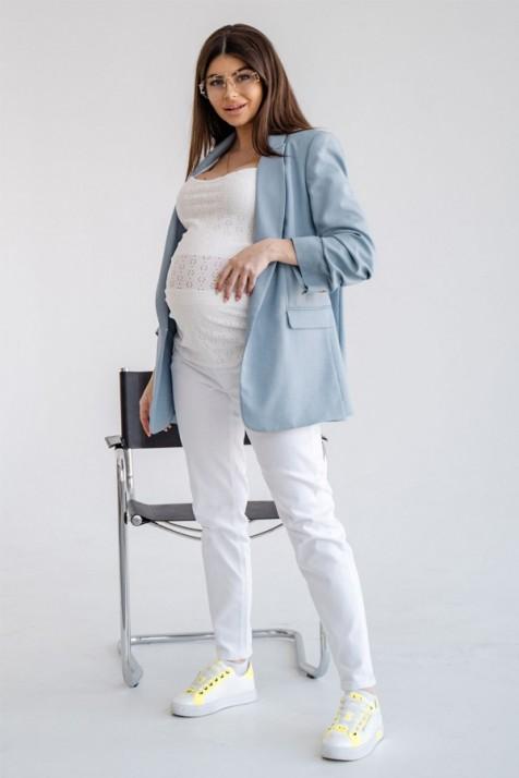 Джинсы для беременных To Be 4302 кремовые