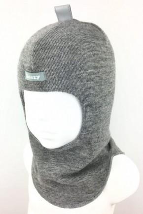Шлем зимний Beezy для мальчика арт.1405 серый