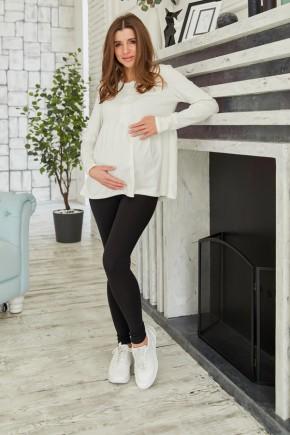 Кофта для беременных и кормящих Lullababe Tallinn молочный