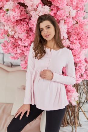Кофта для беременных и кормящих Lullababe Tallinn розовая