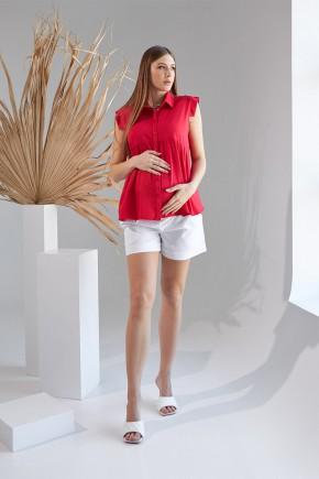 Рубашка для беременных и кормящих Dianora 2157 красная