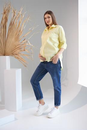 Сорочка для вагітних і годуючих Dianora 2138 синя