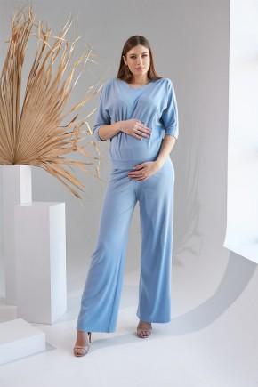 Кофта для беременных Dianora 2159 голубая