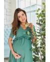 Летнее платье для беременных Lullababe San-Paulu оливка