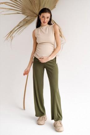Брюки для беременных To Be 4306 хаки