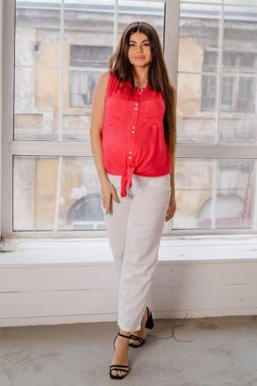 Блуза для беременных To be 4186 малиновая