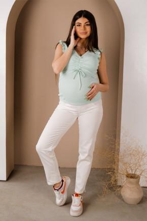 Джинсы для беременных To Be 1172 кремовые