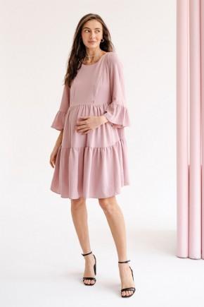 Платье для беременных и кормящих To be 1459 пудра