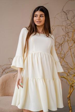 Платье для беременных и кормящих To be 1459 лимонное