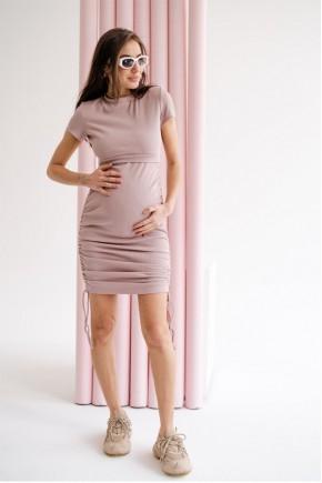 Платье для беременных и кормящих To be 4315 розовое