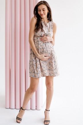 Платье для беременных и кормящих To be 4180 теплый песок