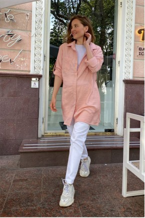 Блуза для беременных и кормящих To be 1268 пудра