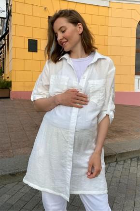Блуза для беременных и кормящих To be 1268 молочная