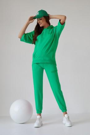 Спортивный костюм для беременных и кормящих Dianora 2149(50) ярко-зеленый