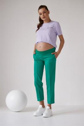 Штаны для беременных Dianora 2171 зеленые
