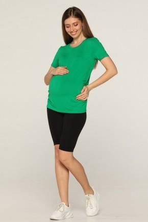 Футболка для беременных Lullababe Manila зеленая