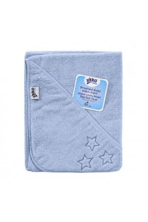 Махровий рушник банний XKKO 150x75 Organic - блакитний