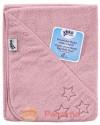 Детское Махровое полотенцек капюшоном XKKO 90x95 Organic  - розовое