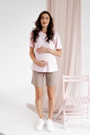 Шорты для беременных To be 4260 бежевые