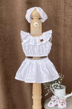 Летний набор для девочки Air Flover Kid's Fantasy белый