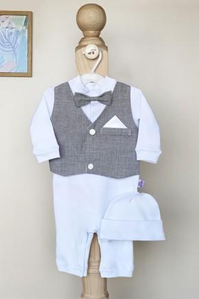 Нарядный набор для мальчика Джентельмен Kid's Fantasy серый