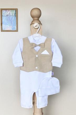 Нарядный набор для мальчика Джентельмен Kid's Fantasy бежевый
